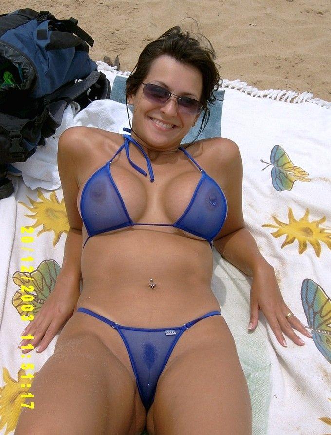 mature bikini milf Sexy brunette
